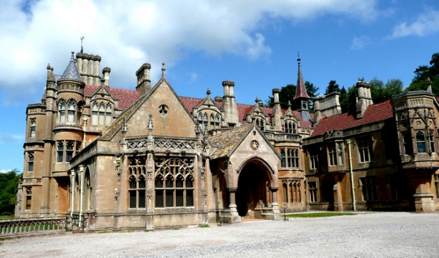 Gothic Revival Mansion