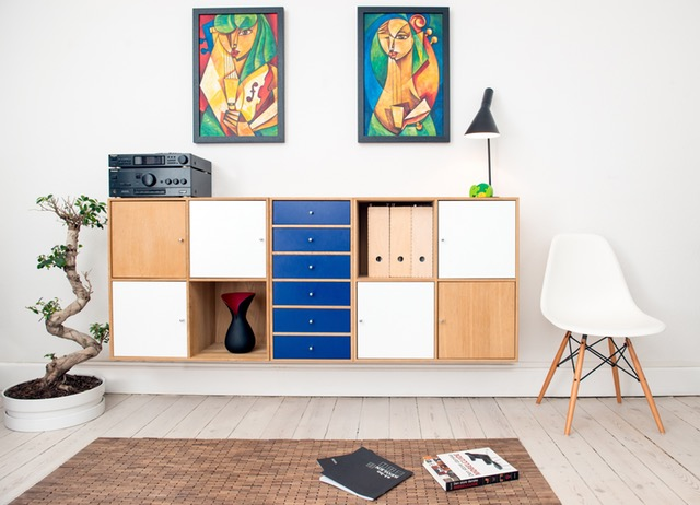 Wall Painting Cabinet
