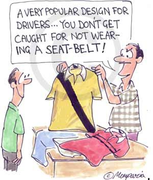 solution to seatbelts